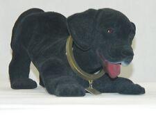 Wackel Figur Hund Labrador schwarz groß H 13 cm Wackelkopf Dekofigur Kunststoff
