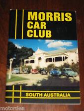 MORRIS CAR CLUB 1986 South Australia motor car BOOK, well illustrated, FREE POST
