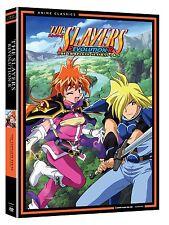 Slayers . The Complete Season 4 + 5 . R Evolution-R . Anime . 4 DVD . NEU
