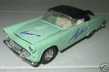 WELLY AMERICAN MUSCLE COCHE AÑOS CINCUENTA FORD THUNDERBIRD METAL HALAR BACK