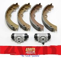 Brake Shoe & Wheel Cylinder SET - Suzuki Vitara SWB 3Dr 1.6 G16A (88-8/91)