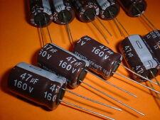 10x Elko 47µF / 160V 105°C 13x20mm 47uF