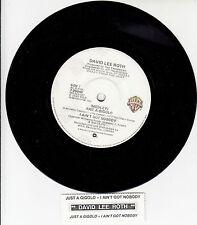 """DAVID LEE ROTH (Medley) Just A Gigolo I Ain't Got Nobody 7"""" 45 rpm VAN HALEN"""