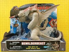 HOW TO TRAIN YOUR DRAGON 2 BEWILDERBEAST & TOOTHLESS FINAL BATTLE FIGURE SET