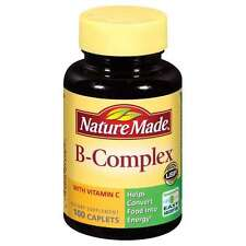 Nature Made B Complex With Vitamin C Caplets 100ct