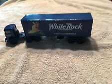Mack die cast  tractor  with White Rock trailer