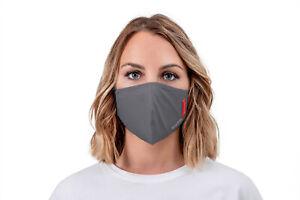 Casada FFP2-Maske grau  ePTFE-Technologie, zugelassen CE0370 EN149:2001+A1:2009