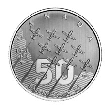 🇨🇦 Canada 5 Dollars Silver Coin $5, Moments to Hold - The Snowbirds, 2021