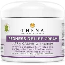 Redness Relief Face Cream Rosacea Skin Care with Colloidal Oatmeal Best Natural