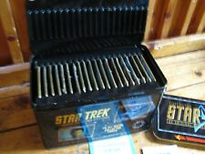 Star Trek 30Th Anniversary First Edition 20 All Metal Collector Cards