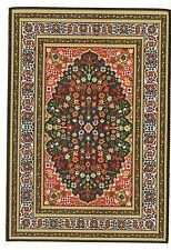 "Dollhouse Miniature Beautiful Woven Turkish Rug 4"" x 5"" ~ S110-12  NEW"