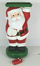 "Mr. Christmas Serving Santa Remote Control Holiday Decor 21"" For Repair or Parts"