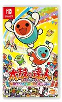 NEW Nintendo Switch TAIKO NO TATSUJIN JAPAN OFFICIAL IMPORT FREE SHIPPING