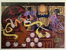 """Zu Ming Ho Signed 23.5"""" X 34"""" Giclee on Canvas Number 7/99 Limited Edition"""