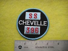 Vintage Chevrolet Chevelle SS 396   Dealer Uniform Patch