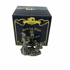 More details for a merry christmas wizard dragon  tudor mint myth and magic  pewter crystal