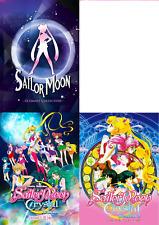 Sailor Moon (Season 1 2 3 4 5 + Crystal + 3 Movie) ~ 12-DVD ~ English Version