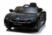 Kinder Elektro Auto BMW i8 Kinderauto Elektrofahrzeug Elektroauto in Schwarz 12V