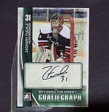 ZACHARY FUCALE Auto Pre RC  2013/14 Between Pipes Goaliegraph #AZF Vegas Knights