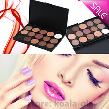Hot Pro 15 Colors Warm Nude Matte Shimmer Eyeshadow Palette Makeup Cosmetic OK
