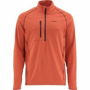 Simms Fleece Midlayer Top Simms Orange - Closeout ~ Select Sizes