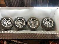 Mercedes C-Klasse C250 AMG Sport W204 2013 17 INCH Alufelgen 10 Speichen C220