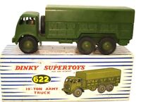 DINKY NO. 622 10 TON ARMY TRUCK - A/MINT & BOXED - VERY RARE