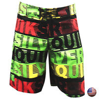 SQUARS SUMMER SURF BEACH SPORT MEN'S SWIMWEAR TRUNKS SWIMMING BOARD SHORTS