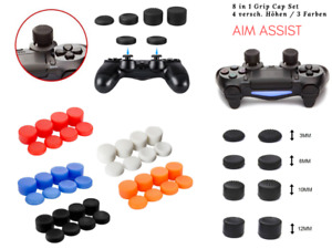 Analogue Stick Swap Grip Cap Essays Aim Assist PS4 & Xbox Controller 8in1