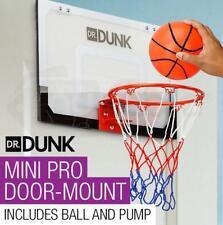 Indoor Mini Basketball Hoop Ring Backboard Kit Door Mounted Spring-loaded rim