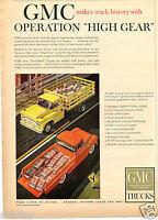 1958 Print Ad of GM General Motors GMC Farm Bred Pickup Truck