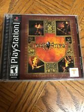 Dark Stone Playstation 1 PS1 Game Used Great Condition Rare