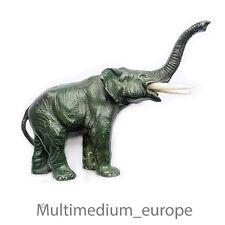 Art Deco Elefant Metall Figur Bein 20er Jahre patiniert Elephant metal figure