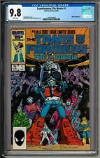 Transformers The Movie #1 (1986) CGC 9.8 White! 1st Appearance of Galvatron!!