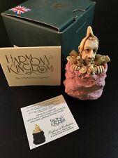 Harmony Kingdom Refuse-D Collection One Man's Treasure Box Figurine Pink 2004