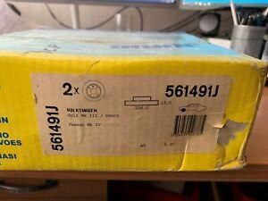 JURID 561491J Bremsscheibensatz Bremsscheibe Scheibenbremse Bremse Vorne SEAT VW