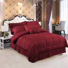 10 Piece Comforter Set Soft Bed in a Bag Comforter Bedding Set Queen/King/Cal K