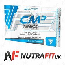 TREC NUTRITION CM3 1250 tri creatine malate tcm 30 caps box