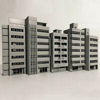 5Pcs/Set Outland Gebäude Modell N Maßstab Spur 1/150 Szene Modern Haus Wohnung