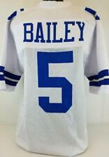 Dan Bailey unsigned custom sewn white jersey adult Mens 3xl