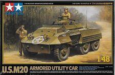 1/48 Tamiya 32556 -  US WWII M20 Armored Utility Car Plastic Model Kit