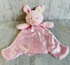 Baby Gund Pink Huggybuddy Pig Lovey Security Blanket 059164