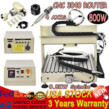 Ballscrew 800W 3040 CNC Router engraver engraving milling metalworking machine