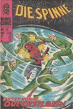 DIE SPINNE # 72 - MARVEL WILLIAMS 1976 - Zustand 1-2