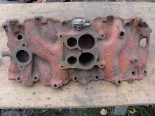 72 Corvette Original Bbc 454 Cast Iron Intake Manifold Oval Port Ls5 Ls3 I 23 71