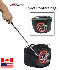 New A99 Golf Power Smash Contact Bag Swing Trainer Pratice Training Aid Black
