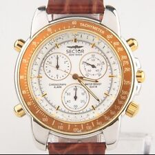 Men's Sector ADV 1000 Two Tone Chronograph, Alarm, Tachymeter Quartz watch