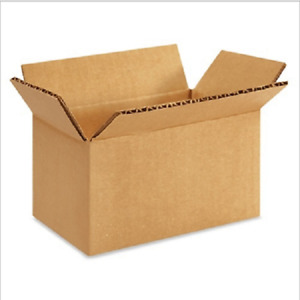 200 5x3x2 Cardboard Paper Boxes Mailing Packing Shipping Box Corrugated Carton