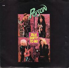 Poison-Talk Dirty To Me (PS) VG+