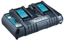 Makita Dc18rd Caricatore Veloce per 2 Batterie allo stesso tempo 220v